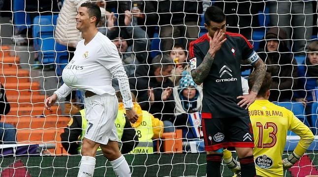 Cristiano Ronaldo es deixa anar i apallissa el Celta