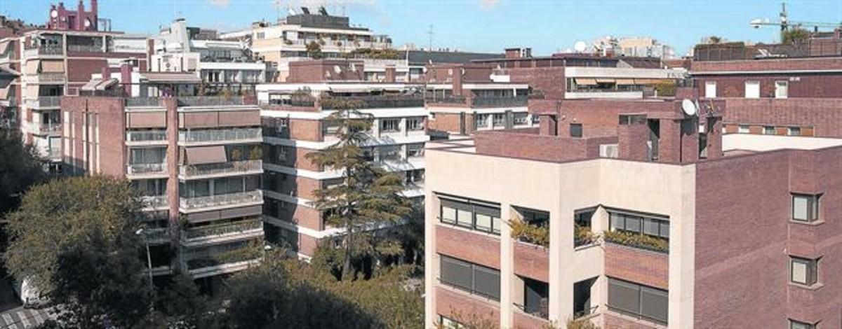 Edificios de viviendas de la<br/>ciudad de Barcelona.