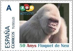 jgblanco36244577 sello de correos 50 anys floquet de neu copito de nieve161111145347