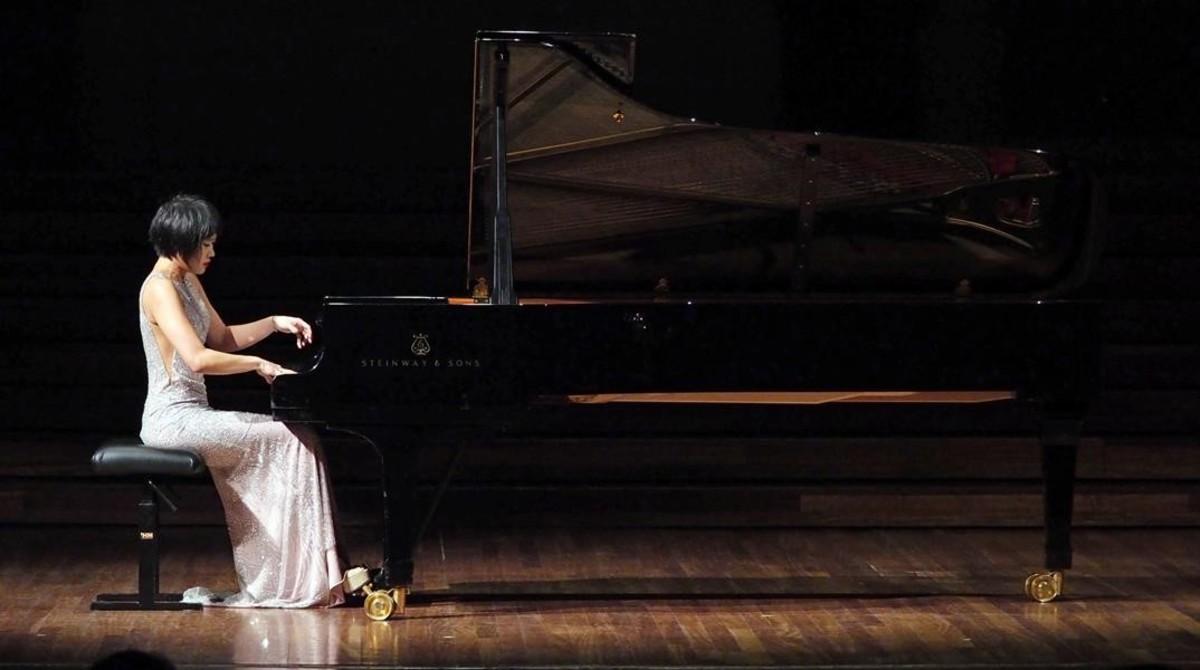 Yuja Wang, en el Palau de la Música.