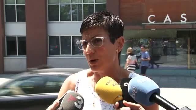 La portaveu del PSC a Sant Adrià de Besòs, Filo Cañete, expressa confiança en la justícia