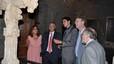 El alcalde Pere Navarro visita Morella durante las celebraciones del Sexenni