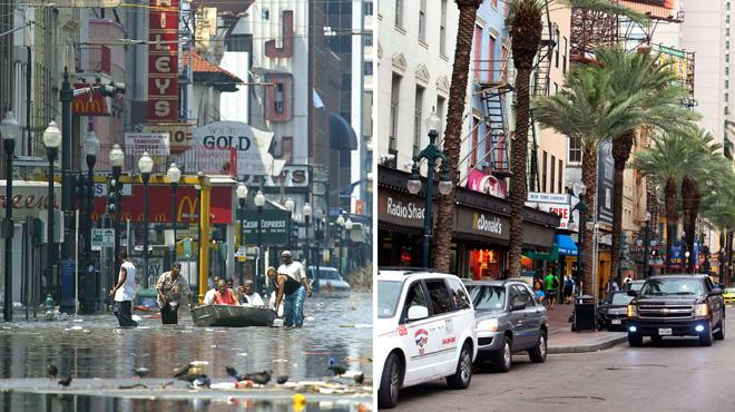 El 'Katrina' encara divideix