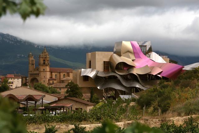 La obra de frank gehry ocio y cultura el peri dico for Hotel bodega logrono