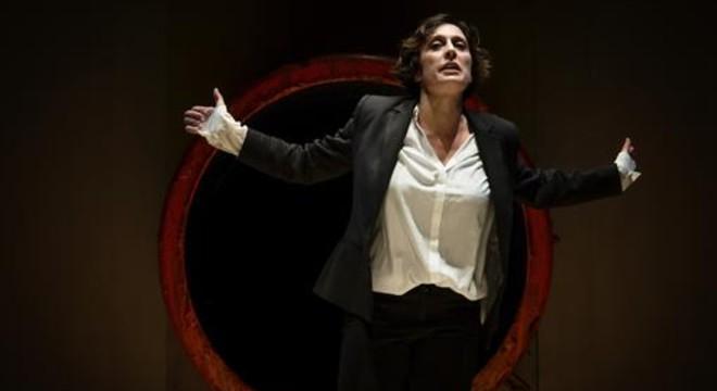 Clara Segura, en el mon�logo 'Conillet'.