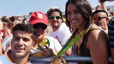 Cristian Toro, de 'tronista' al més alt del podi