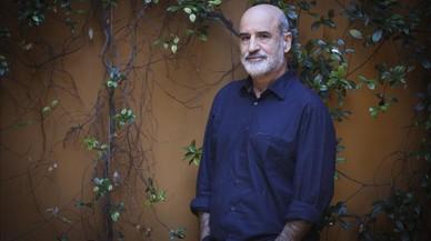 Fernando Aramburu, en un c�ntrico hotel de Barcelona.
