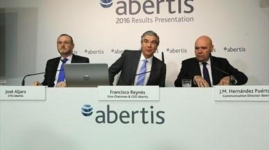 El beneficio de Abertis baja el 18,6%