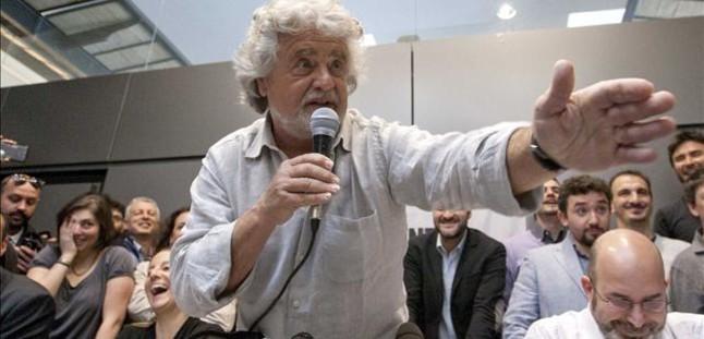 """Grillo propugna una """"invasión alemana"""" de Italia"""