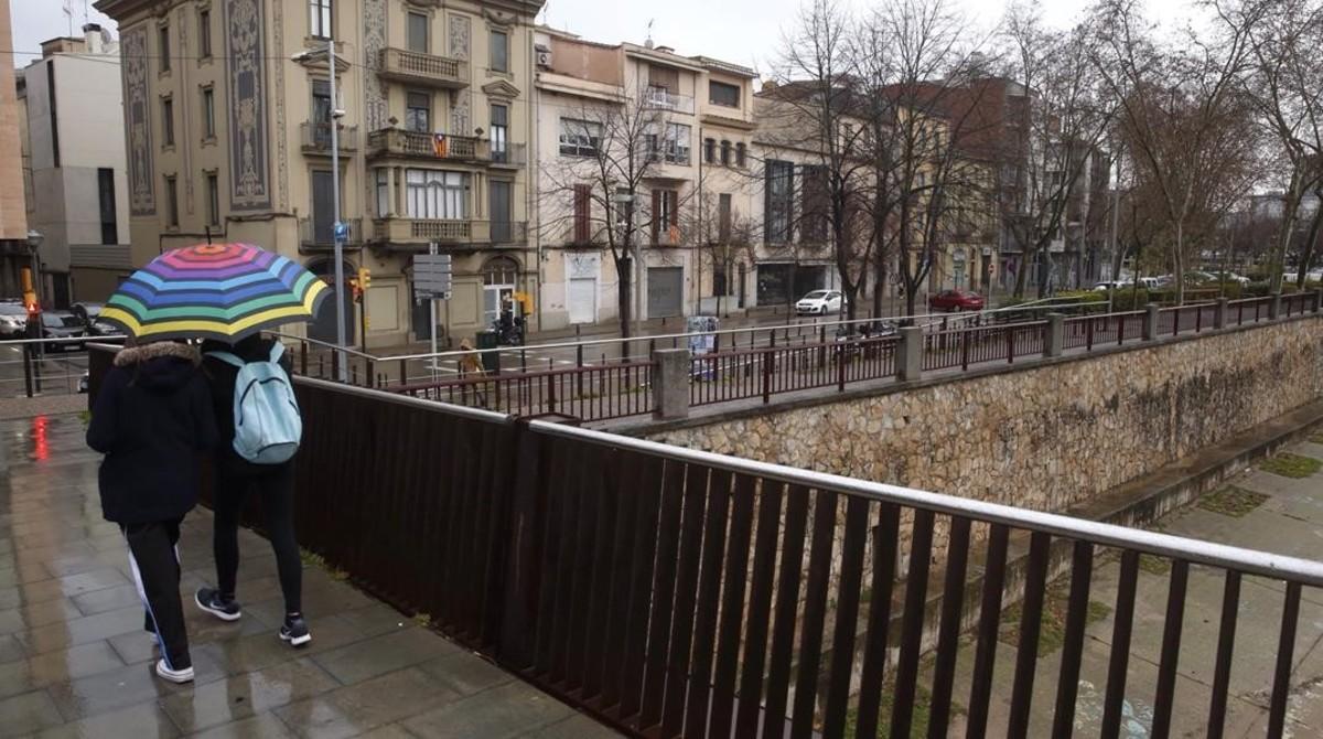 Una mujer denuncia una violación múltiple en Girona