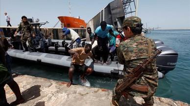 Más de 200 inmigrantes desaparecidos en el Mediterráneo este fin de semana