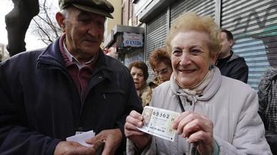 Els més grans de 60 anys són els que més gasten per internet en el sorteig del Nen