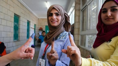 Los palestinos de Cisjordania votan en unos comicios municipales boicoteados por Hamás