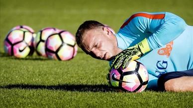 """Cillessen: """"Al principi creia que l'interès del Barça era broma"""""""