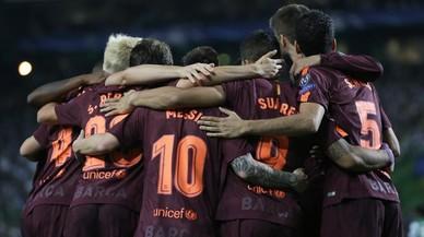 L'autogol de costum dona el triomf al Barcelona a Lisboa (0-1)