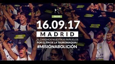 """'Misión Abolición': así será el """"chupinazo animalista"""" convocado PACMA"""