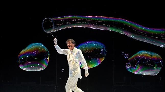 Pep Bou, el inimitable rey de la burbuja