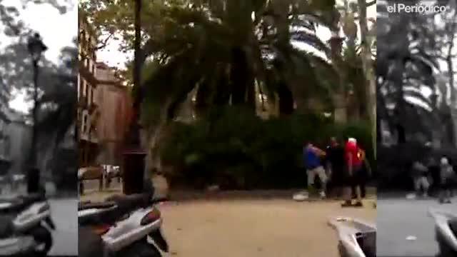 El crimen de los urbanos arroja sospechas sobre la muerte de un mantero en Montjuic