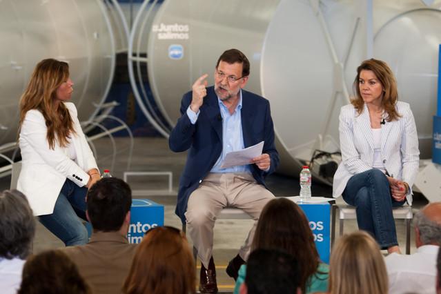 """Rajoy insiste en que uno de los principales objetivos del Gobierno es """"hacer fluir el cr�dito"""""""