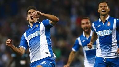 L'Espanyol aconsegueix contra el Celta el primer triomf de la Lliga