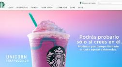 Starbucks lanza el Frappuccino Unicornio