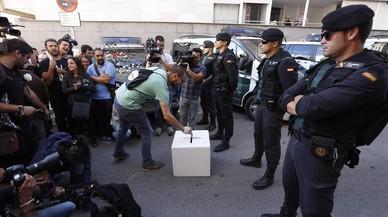 La Guàrdia Civil requisa més de 45.000 notificacions de les meses electorals del referèndum de l'1-O