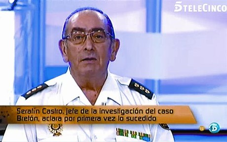 El comisario Serafn Castro, en Tele 5.