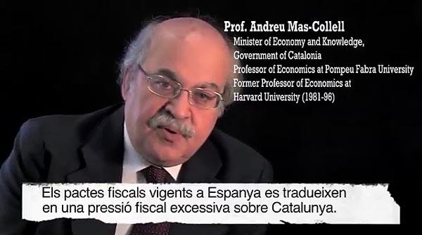Vídeo de la Fundación CATDEM sobre el déficit fiscal en Catalunya.
