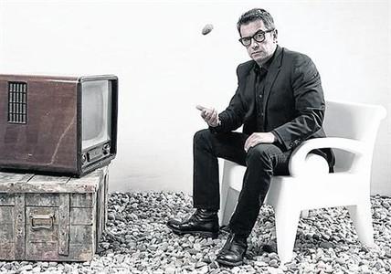 Andreu Buenafuente, en una imagen promocional de 'En el aire'.