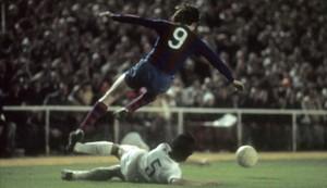 Johan Cruyff, durante su etapa como futbolista del Barça
