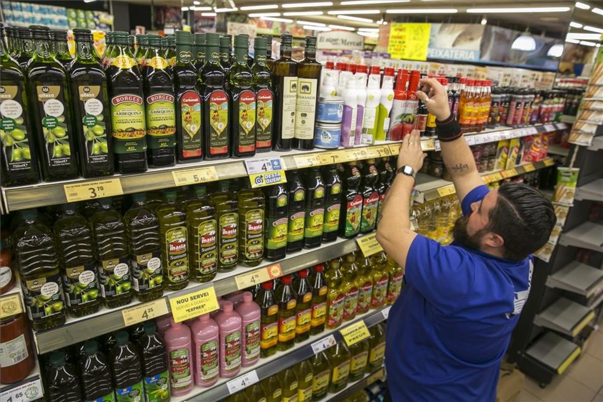 Precios aceite de oliva en supermercados