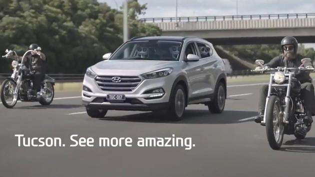 Divertido spot de Innocean Worldwide para el Hyundai Tucson.