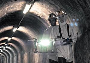 <b>INNOVACIÓN</b><br/>Prueba de inspección de las cloacas de Barcelona con drones de FCC y Eurecat.