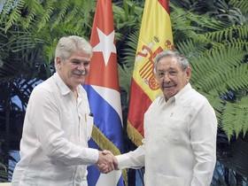 España y Cuba concretan visita de máximo nivel para inicios de 2018 a la isla
