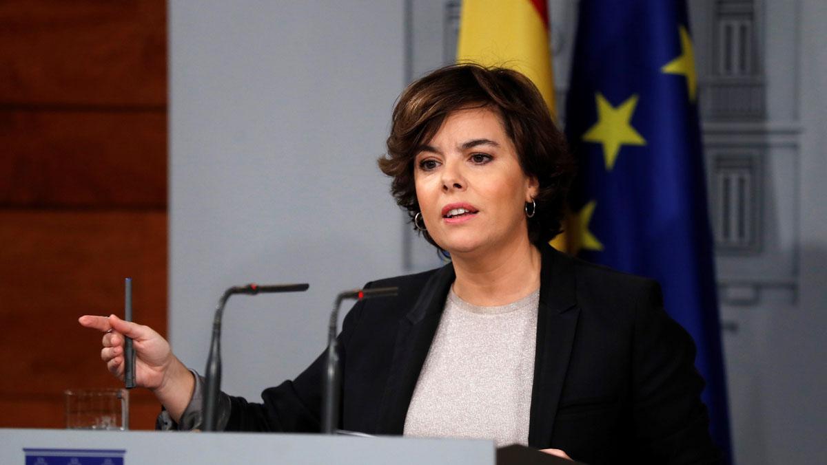 La vicepresidenta recuerda que :El Senado puede adaptarse a lo que Parlament y Generalitat vayan haciendo