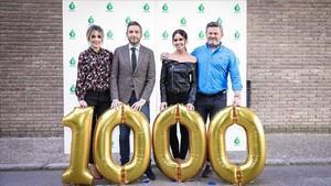 Los conductores de Zapeando presentan su programa 1.000.