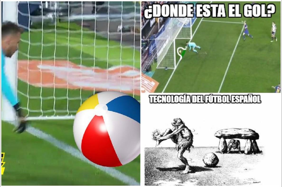 Memes sobre el gol mal anulado a Messi en el Valéncia - Barça