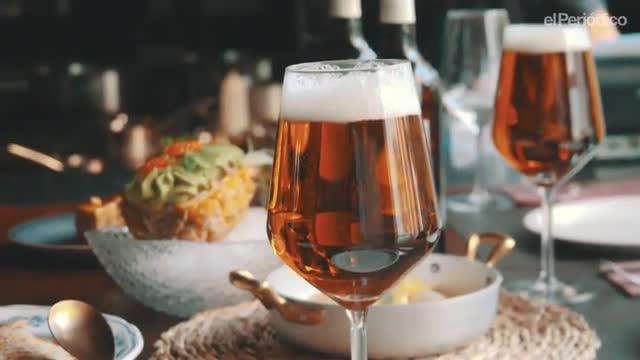Así se hace la cerveza de Navidad de Damm