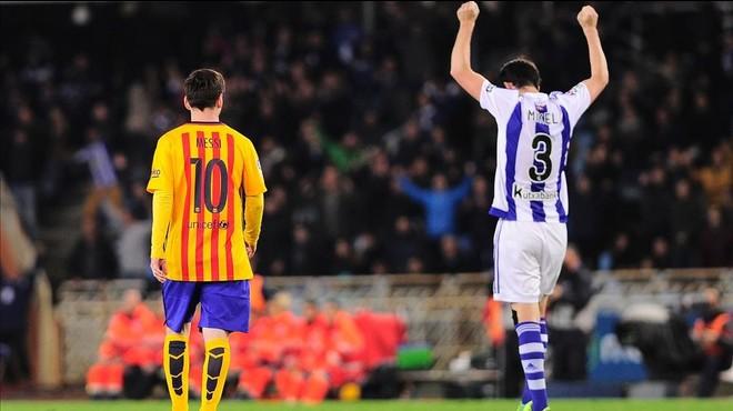 La Reial Societat torna a tombar el Barça a Anoeta