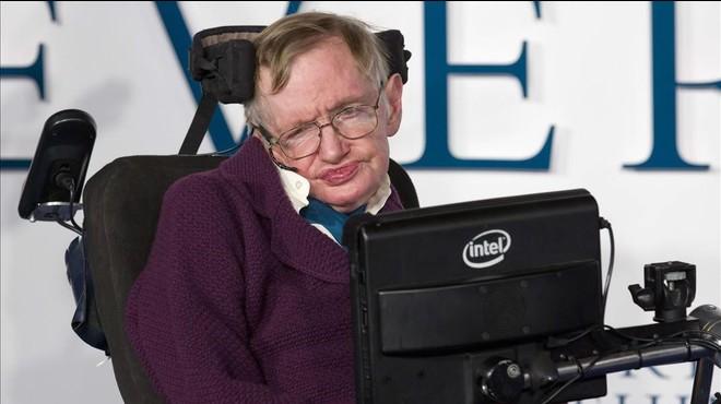 El f�sico brit�nico Stephen Hawking.