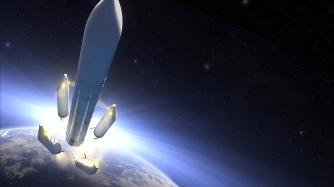 Recreaci�n art�stica del futuro Ariane 6.
