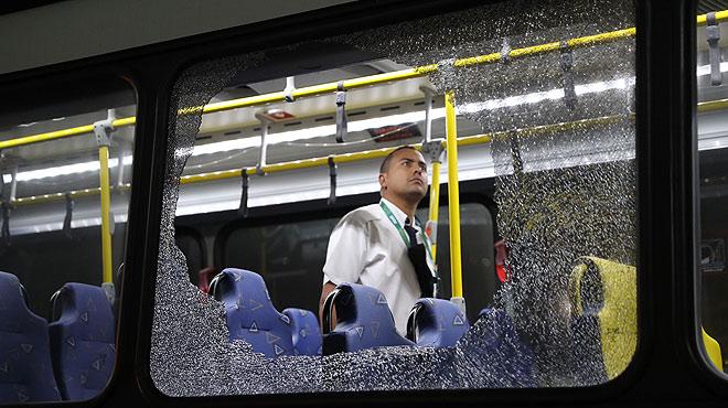 Un periodista argentí explica el tiroteig sofert en un autobús oficial de premsa