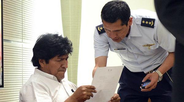 Incident diplomàtic entre Evo Morales i països de la UE per Snowden