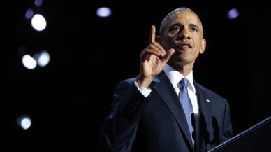 El discurs de comiat d'Obama, en 10 frases