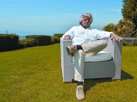 Grillo apela al electorado harto de la clase pol�tica