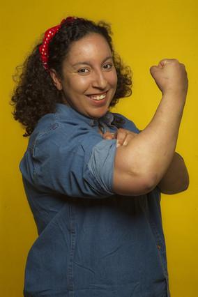Najat El Hachimi, escritora que recibió el premio Ramon Llull de novela 2008.