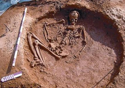 Las obras del AVE descubren un poblado neolítico en Sant Andreu