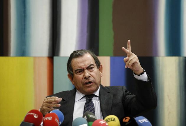El expresidente de Caja Navarra ratifica ante el juez su versi�n sobre el chantaje que sufri� en diciembre