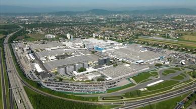 Factor�a de Magna Steyr en Graz.