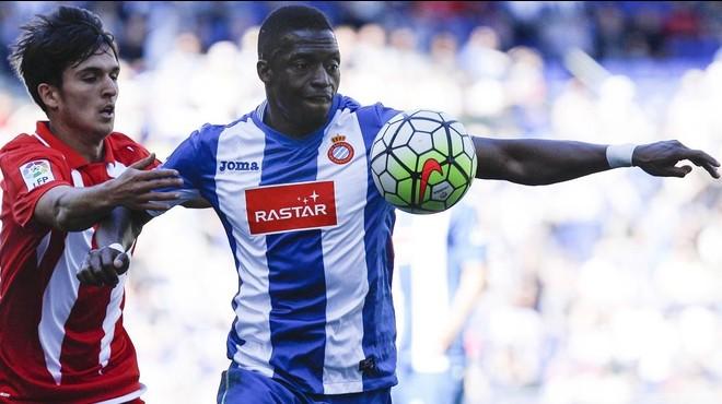 """Diop: """"S'ha d'anar a morir al Camp Nou per l'afició"""""""